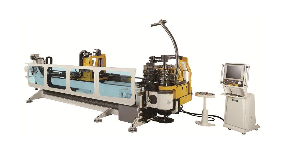 SB-80X8A-MRV, OD 76.2mm弯管机 , 8軸数控 + 滚弯 + 拉弯 + 1D弯管 + 6层弯管模