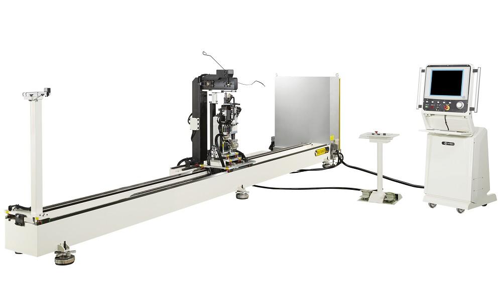 SOCO 剎车油管专用的弯管机, 3轴伺服控制弯管、倾转及送料