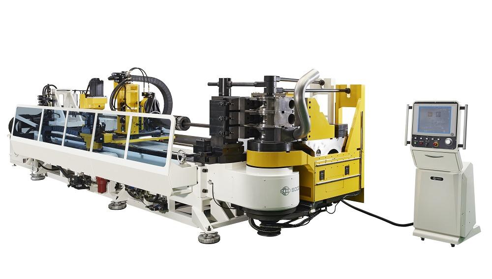 OD 127mm 液压弯管 6 轴控制弯管机