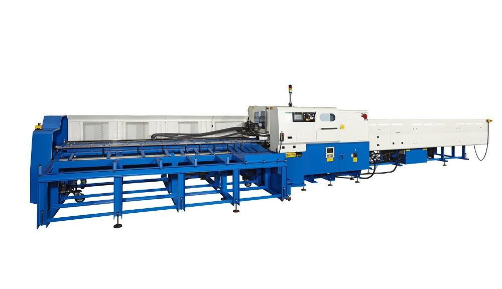 SA-115NC-CL 锯切长度达 3000mm 金属管棒材切断机 , 3 轴数控 OD 115mm