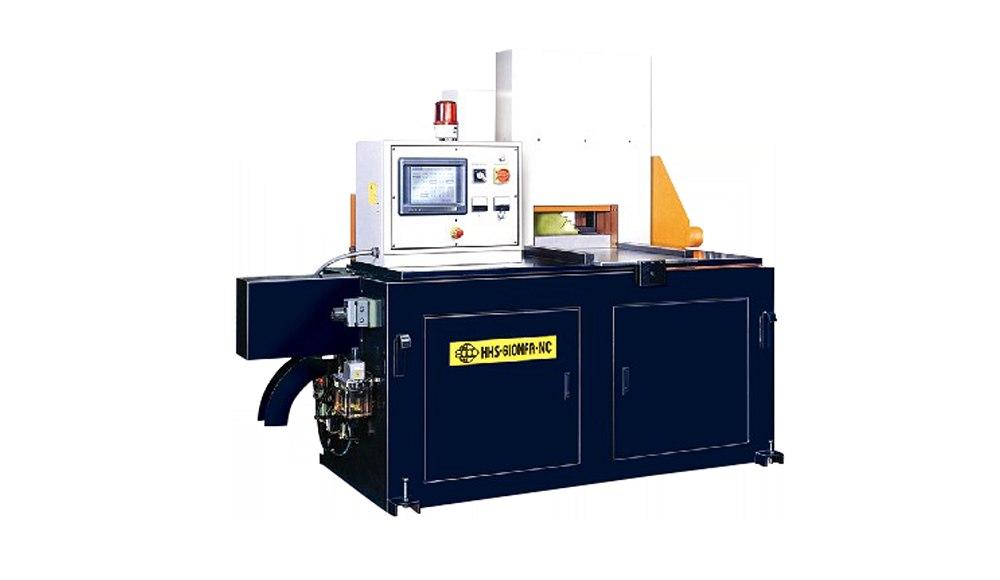 HHS-610NFA-NC 铝棒管材圆锯机,非铁材锯切能力可达 OD 190mm
