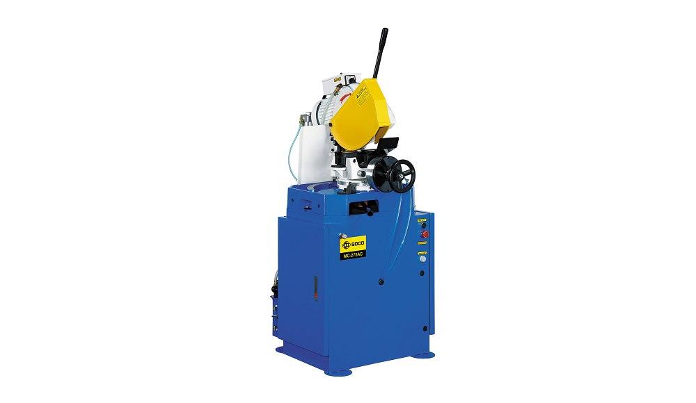 SOCO 气压自动夹钳及空油压自动进退刀切管机 ,OD 80mm 最大锯切外径