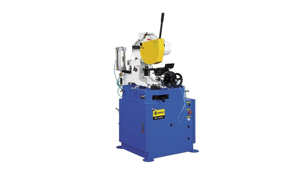 SOCO 气压自动夹钳及空油压自动进退刀切管机 ,OD 100mm 最大锯切外径