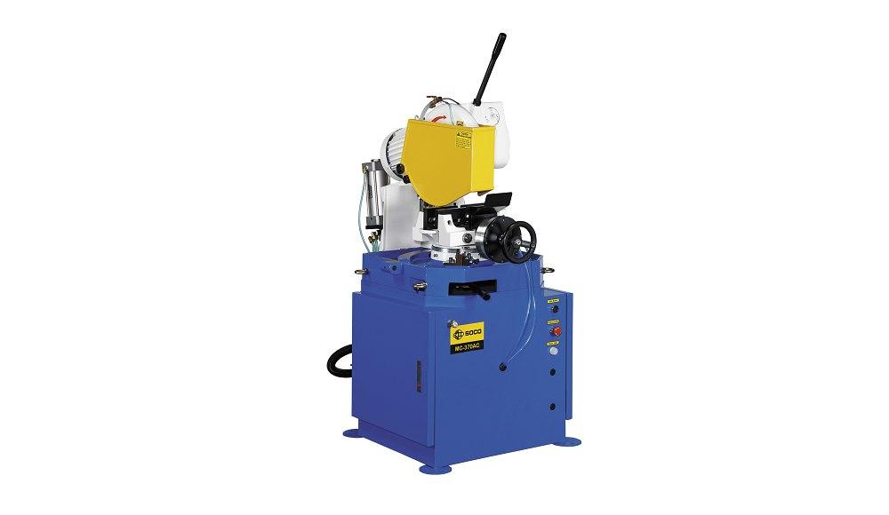 SOCO 气压自动夹钳及空油压自动进退刀切管机 ,OD 115mm 最大锯切外径