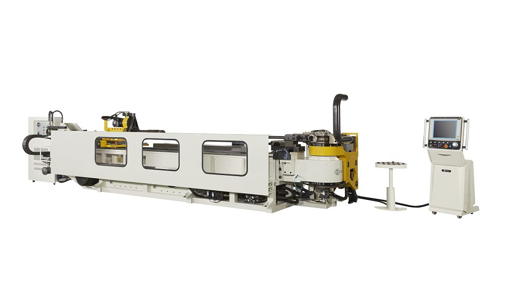 OD 110mm 液压弯管 6 轴控制弯管机
