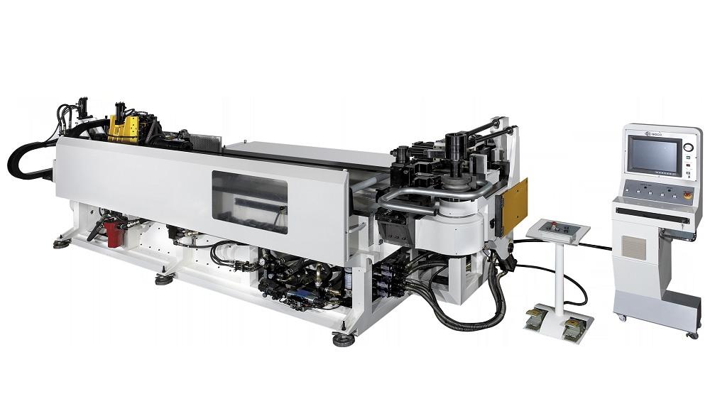 弯管能力为管径 88.9mm. CNC 2 轴伺服独立控制及 1层弯管模具