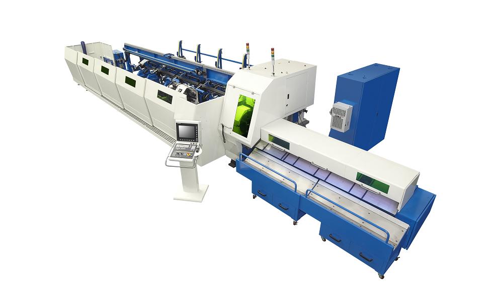 11轴全自动化激光切管机
