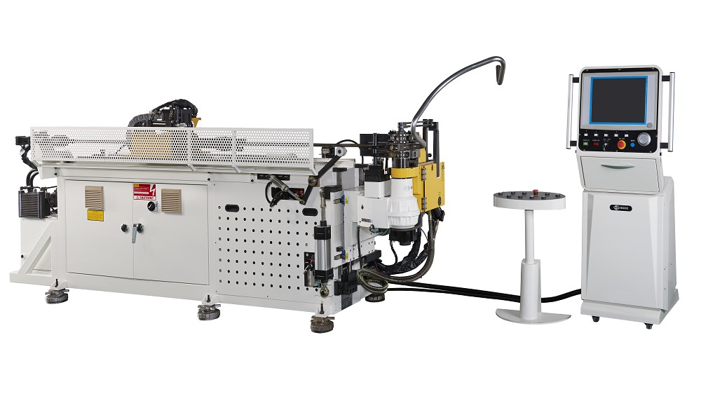 5 轴數控 OD 30 mm 低减薄率材料助推弯管机